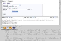 WebCalendar Import